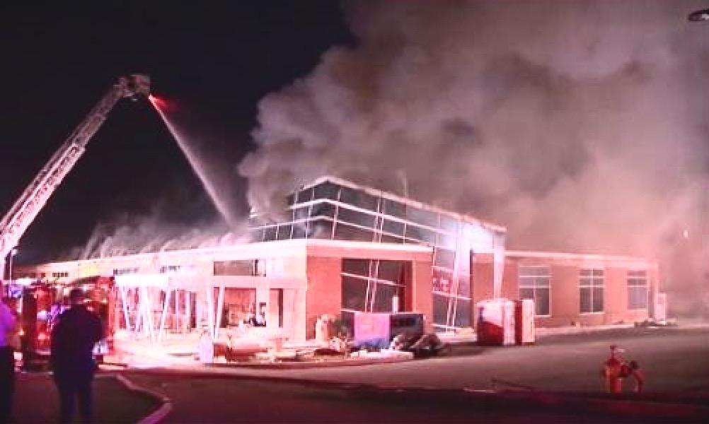 King's Bowl fire, Burlington MA 1