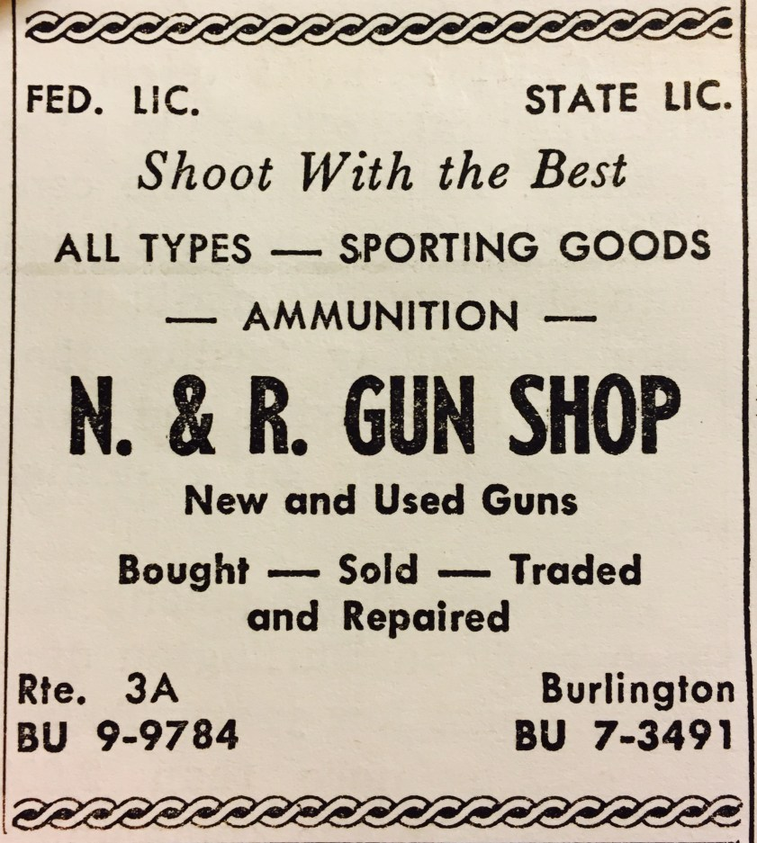 N & R Gun Shop Burlington MA