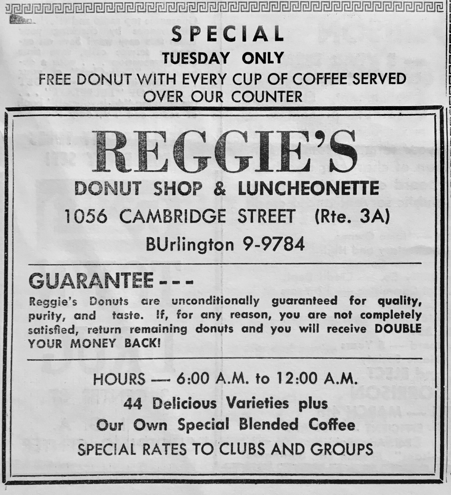 Reggie's Donut Shop & Luncheonette