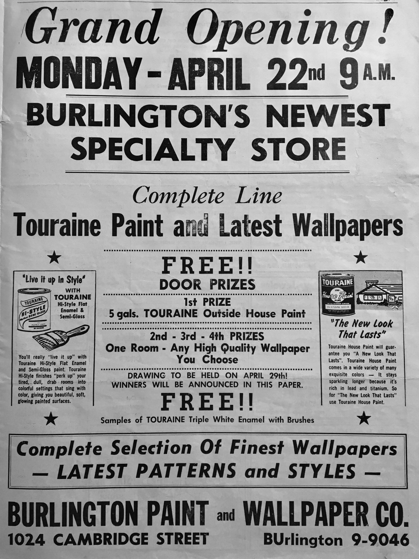 Burlington Paint & Wallpaper Co Burlington MA