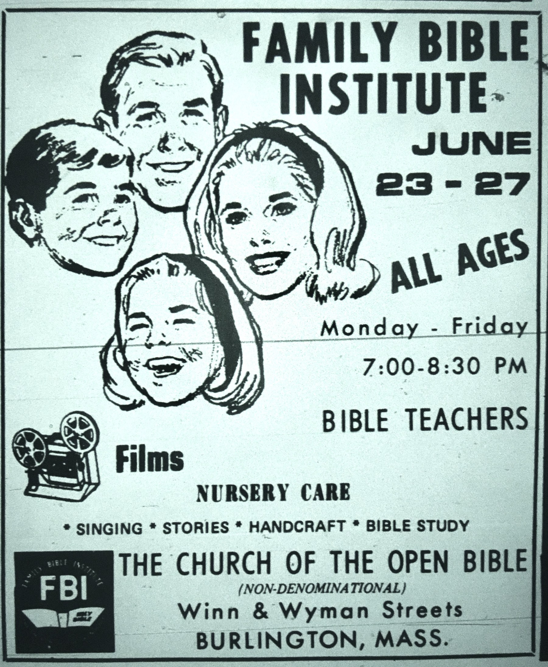 Family Bible Institute Burlington MA