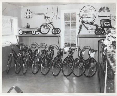 Neilsen's Bicycle Shop inventory, Burlington MA