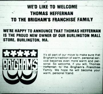 Brigham's Burlington Mall
