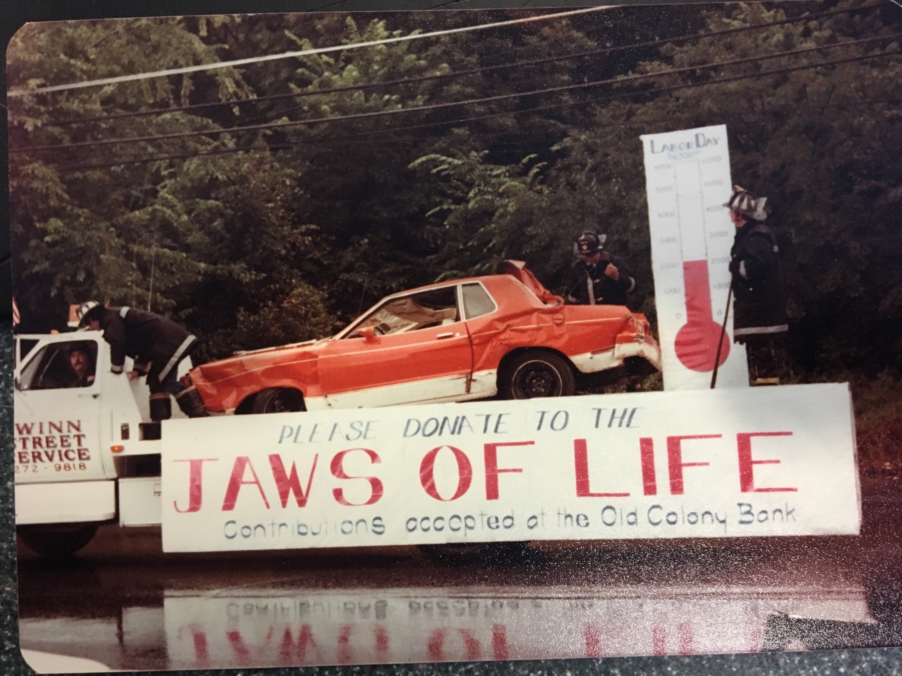 Jaws of Life fundraiser 1978.