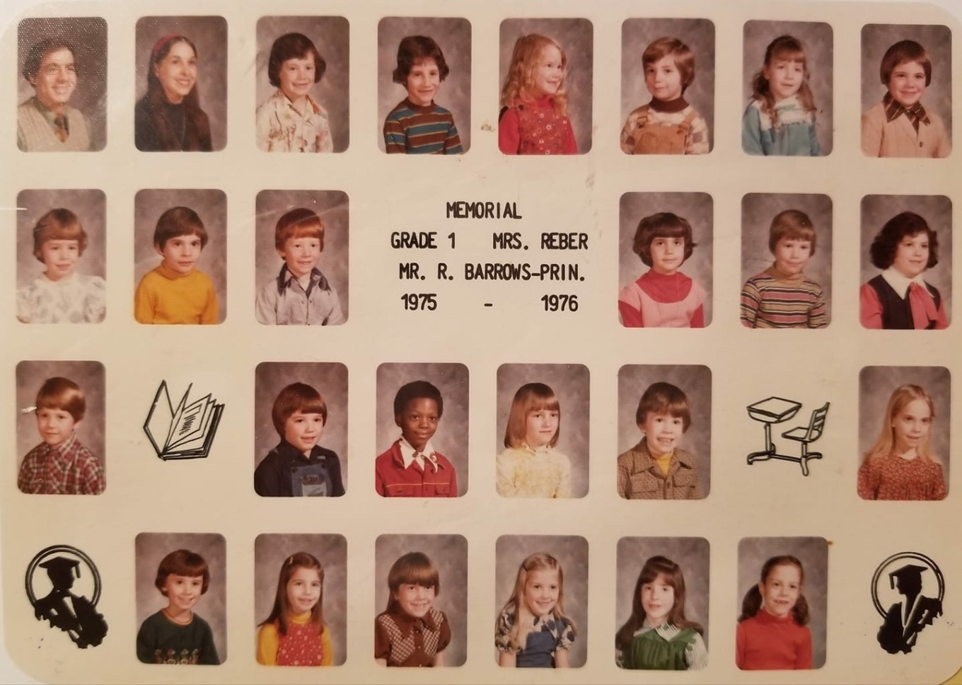 1975 Memorial School Burlington MA Reber