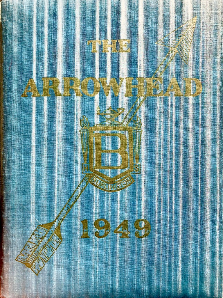 1949 Burlington High School yearbook cover