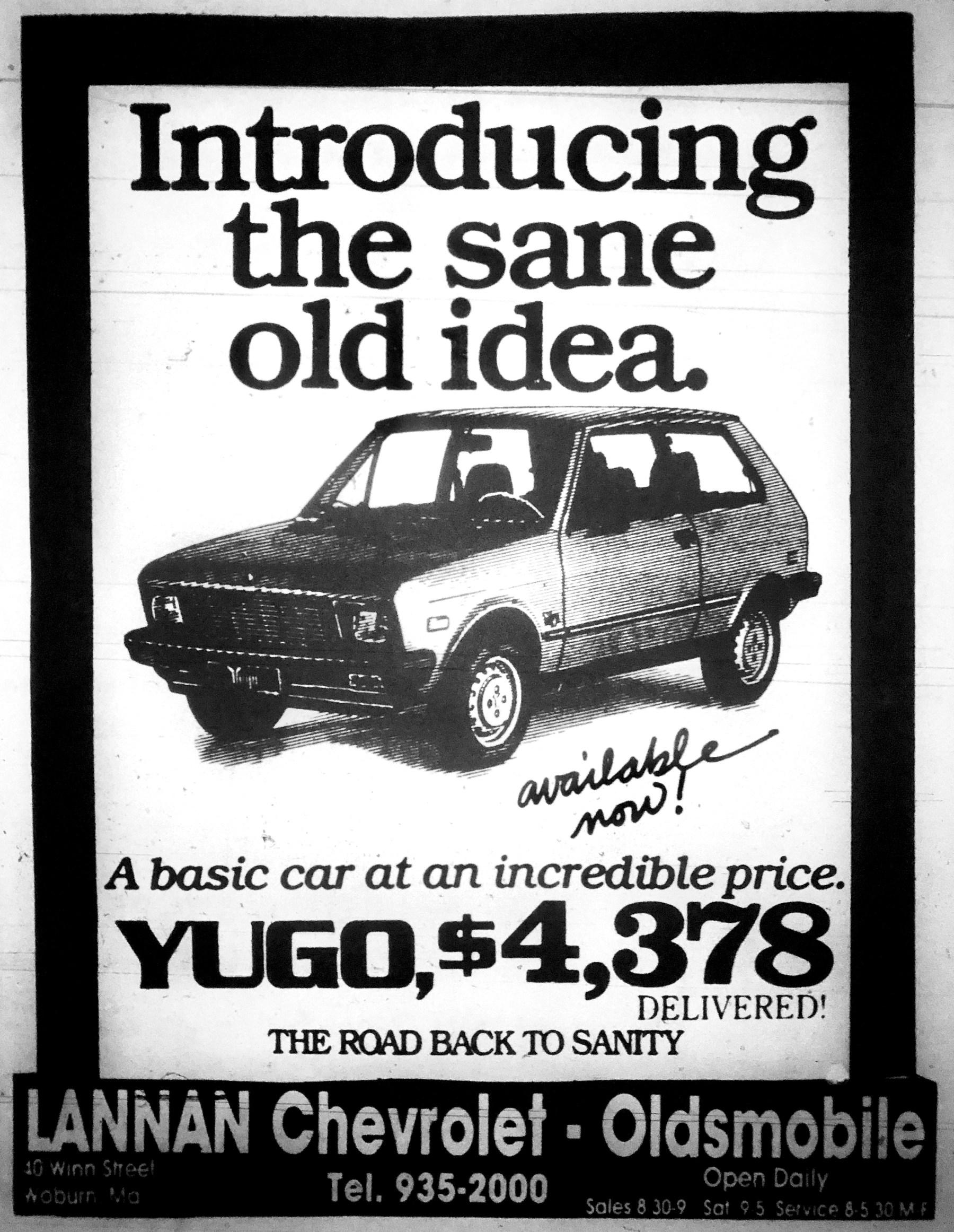 Yugo at Lannan Chevrolet