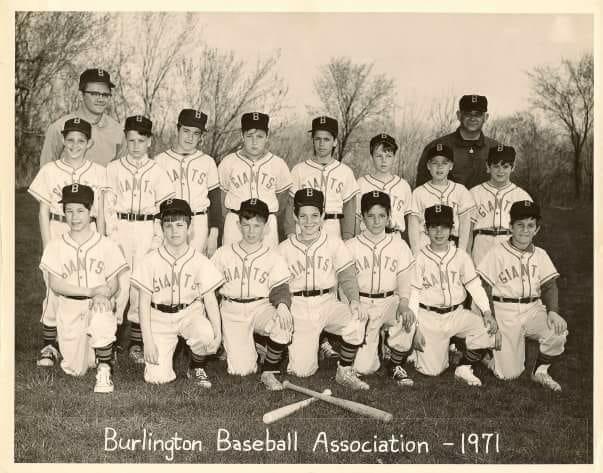 1971 baseball, Burlington MA