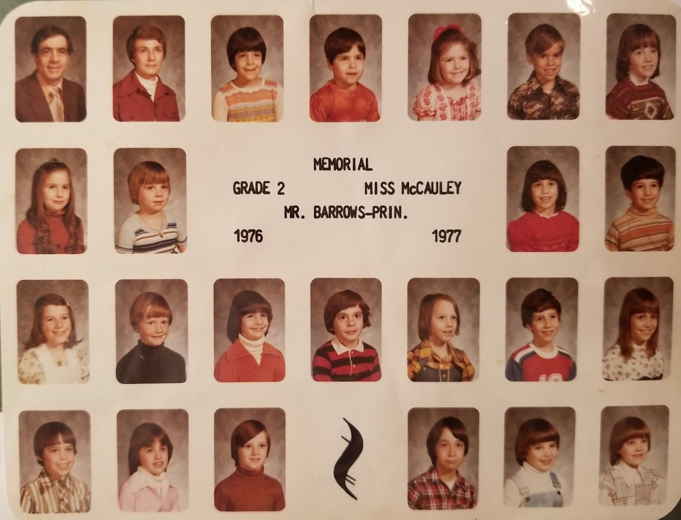 1976 Memorial School Burlington MA McCauley