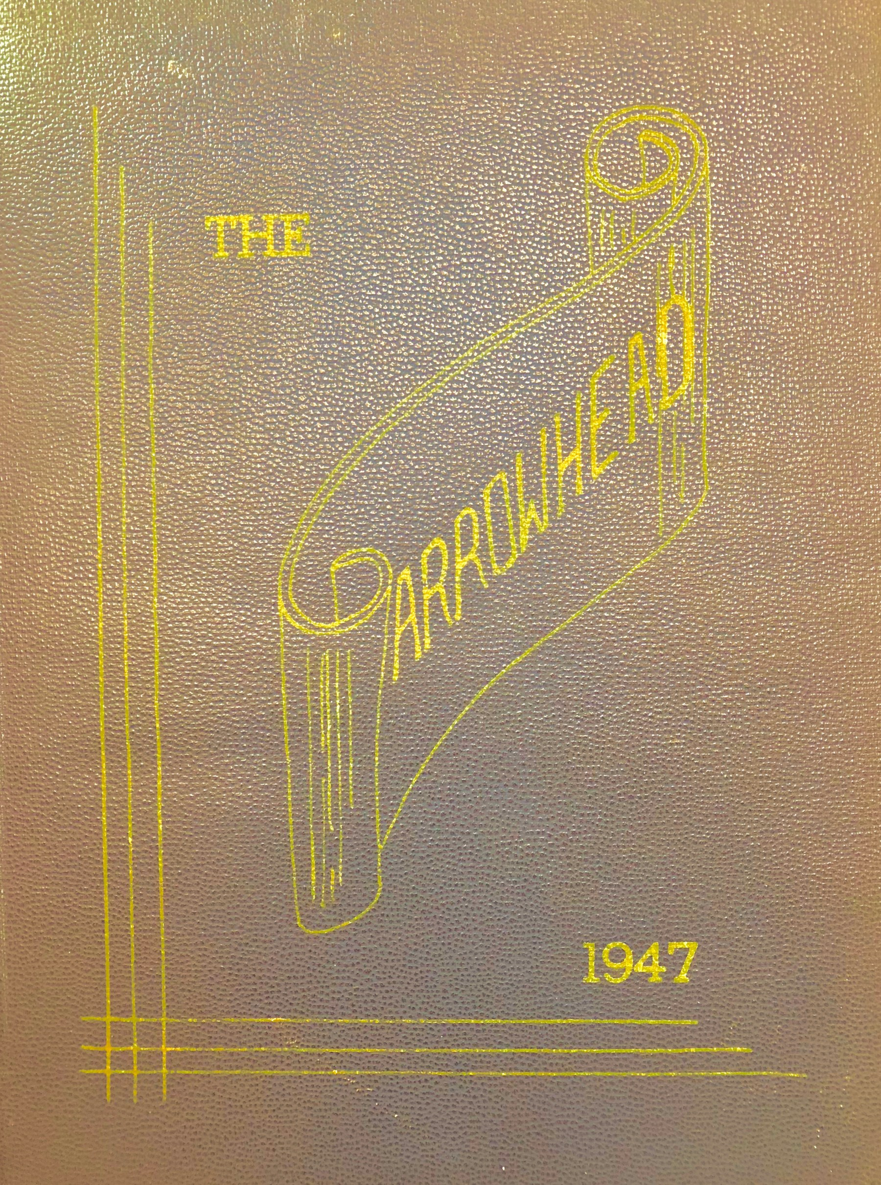 1947 Burlington High School yearbook cover