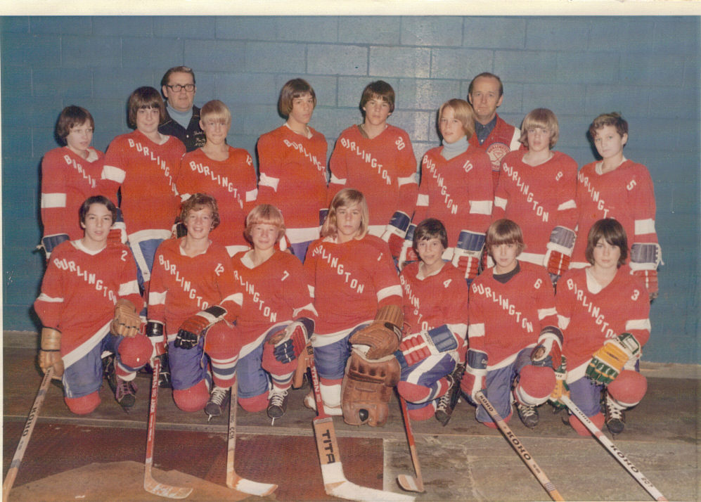 Burlington Hockey 1971-1972