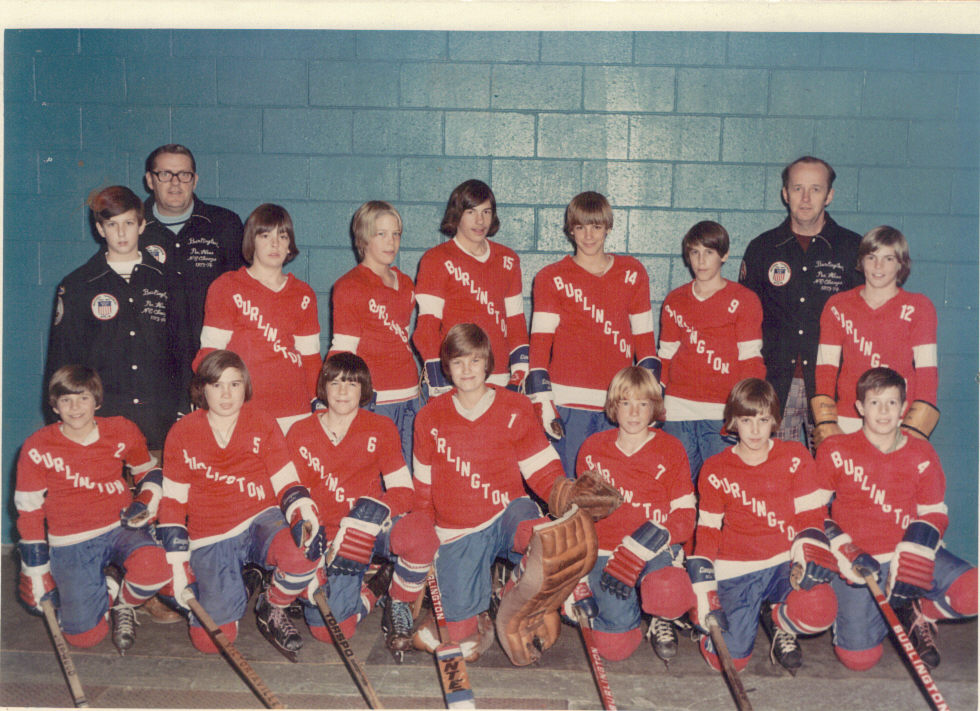 Burlington Hockey 1972