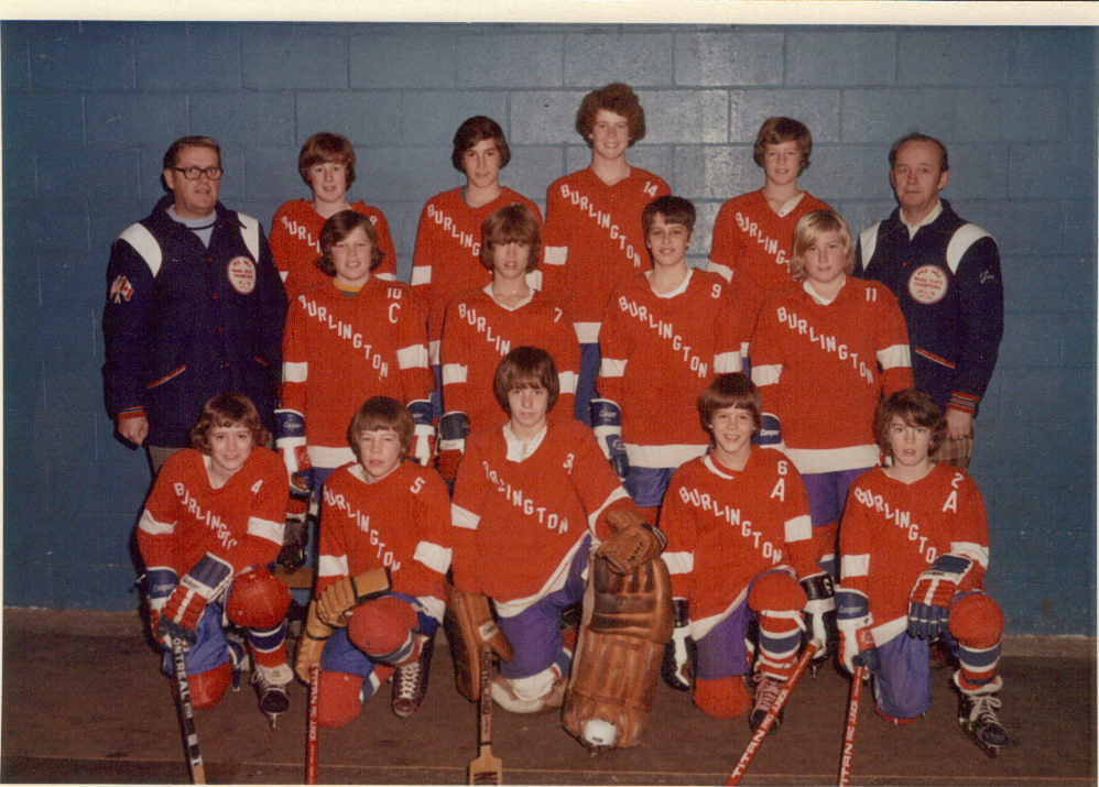 Burlington Hockey 1974