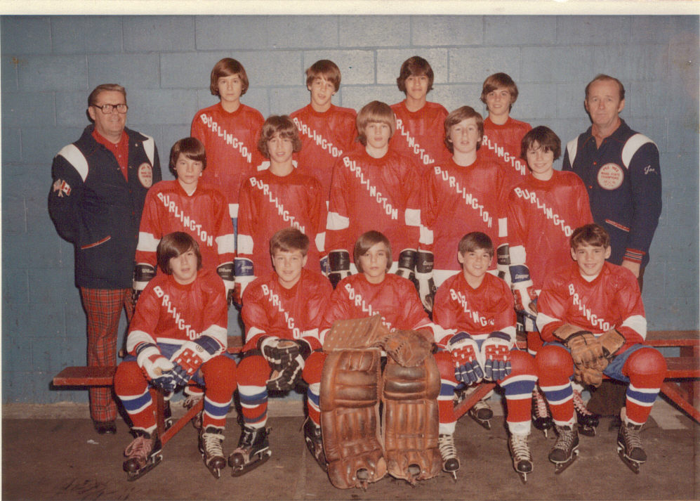 Burlington hockey 1975