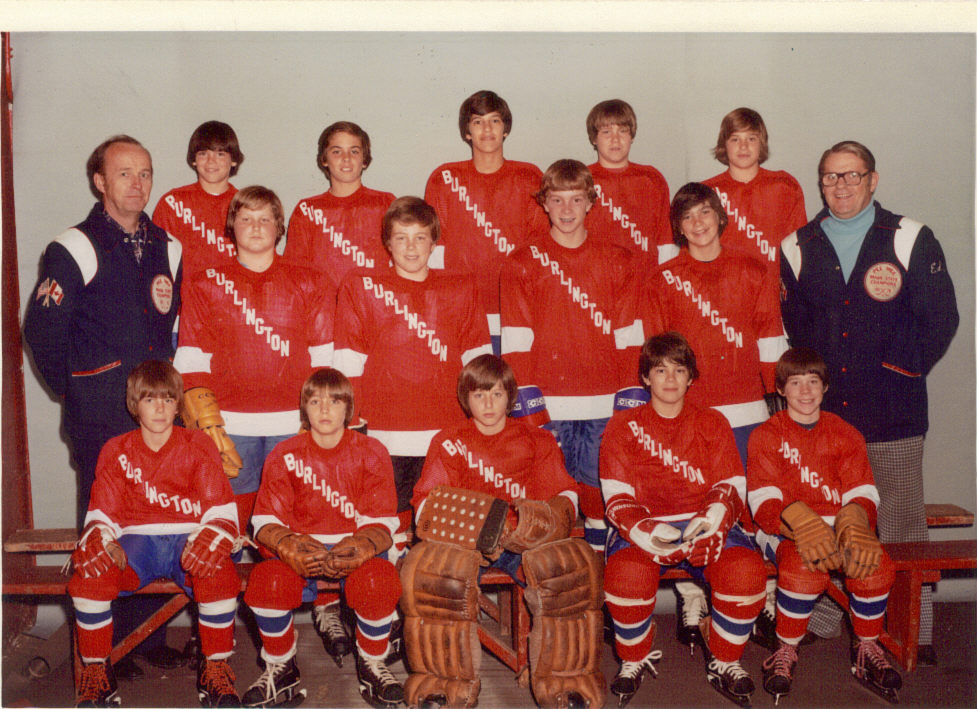 Hockey 1976, Burlington MA