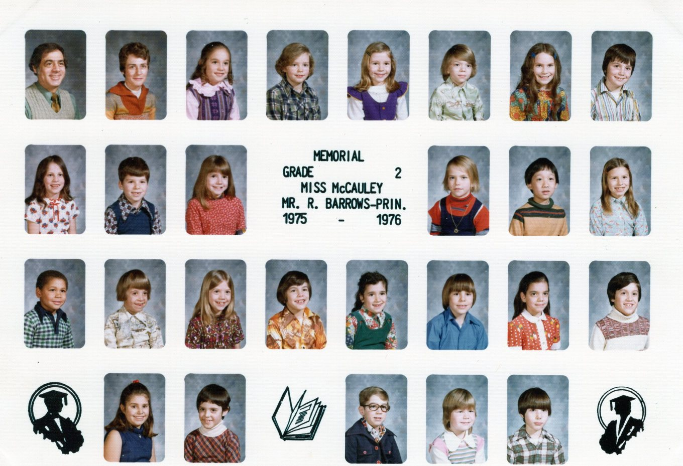 1975 Memorial School Burlington MA McCauley