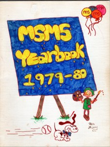 Marshall Simonds Middle School Burlington MA yearbook 1979-1980