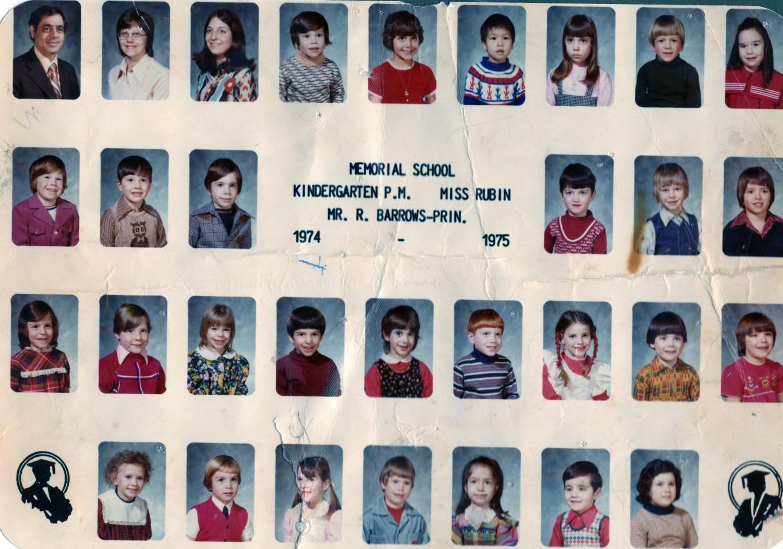 1974 Memorial School Burlington MA Rubin