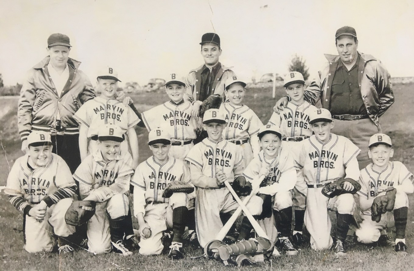 Marvin Bros. little league team, Burlington MA