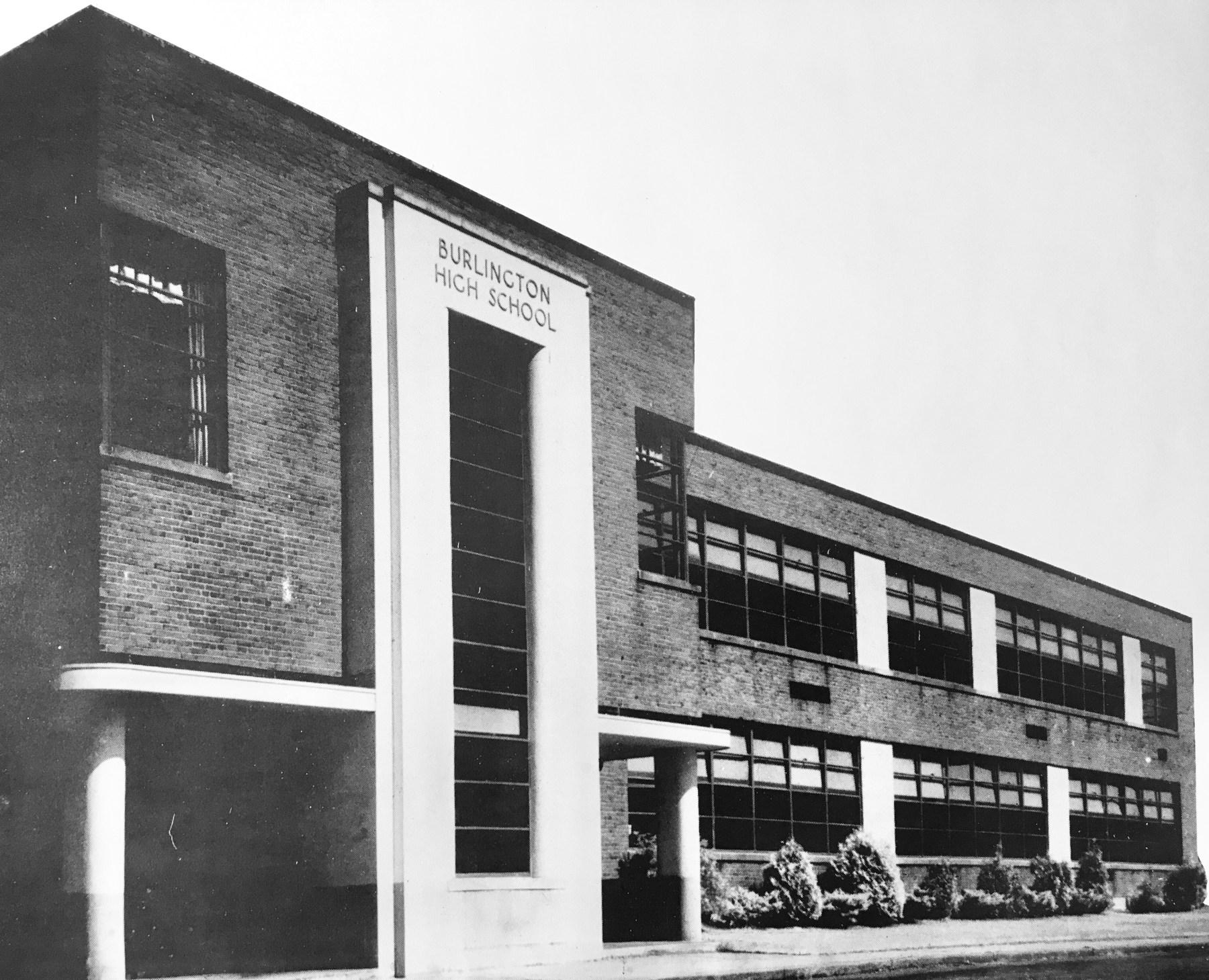Burlington High School, built 1939. Now a multi-purpose town building.
