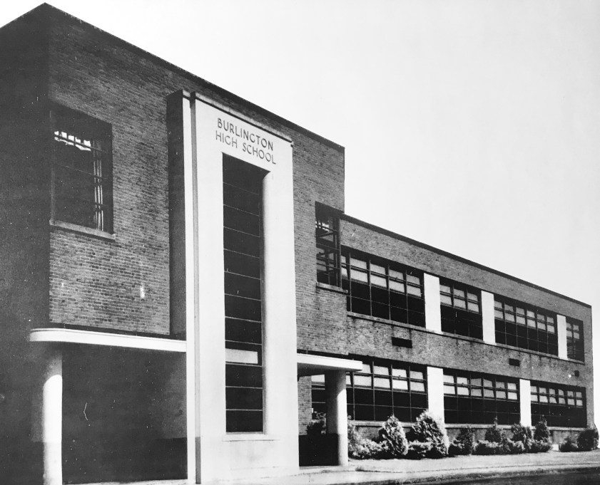 Burlington High School, built 1939. Now a multi-purpose town building.