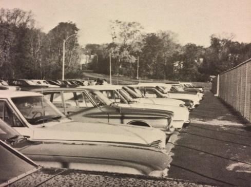 Burlington High School (MSMS) parking lot