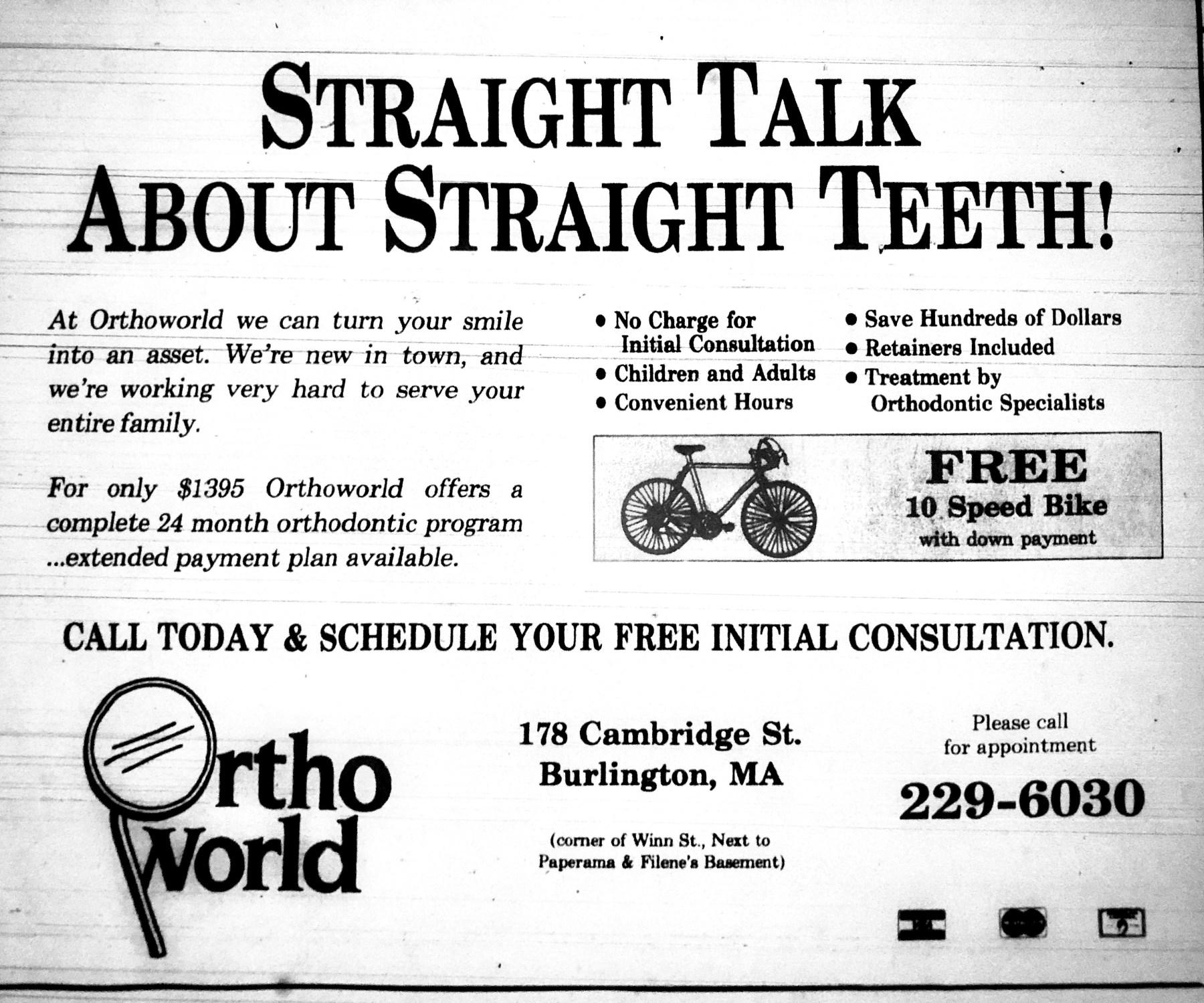 Ortho World, Burlington MA