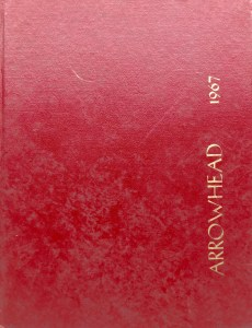 Burlington High School Burlington MA 1967 yearbook