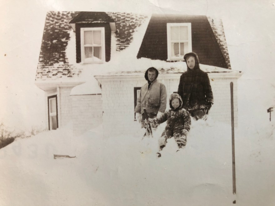 Olson house at 112 Wilmington Road, Burlington MA