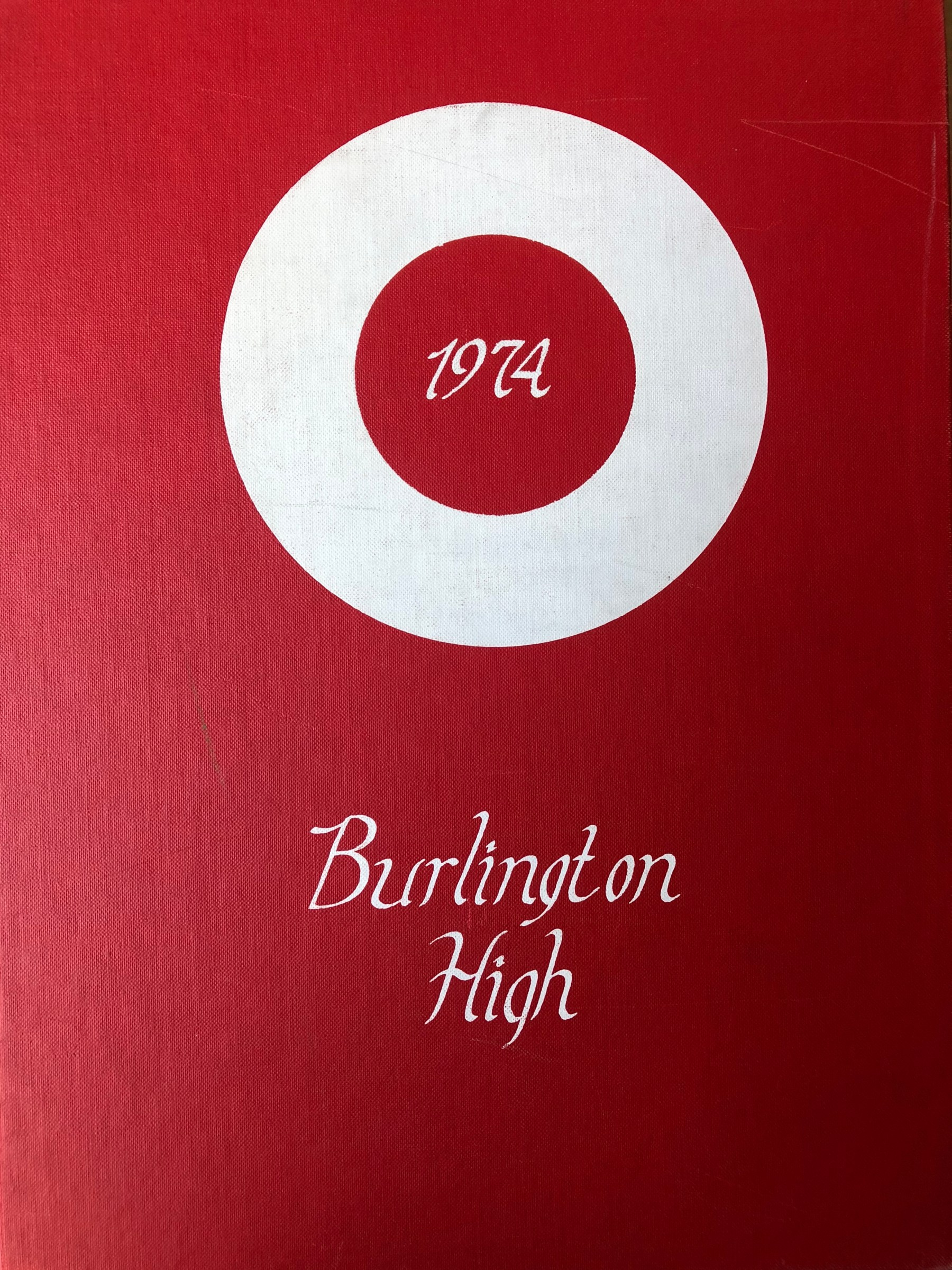 Burlington High School Burlington MA 1974 yearbook