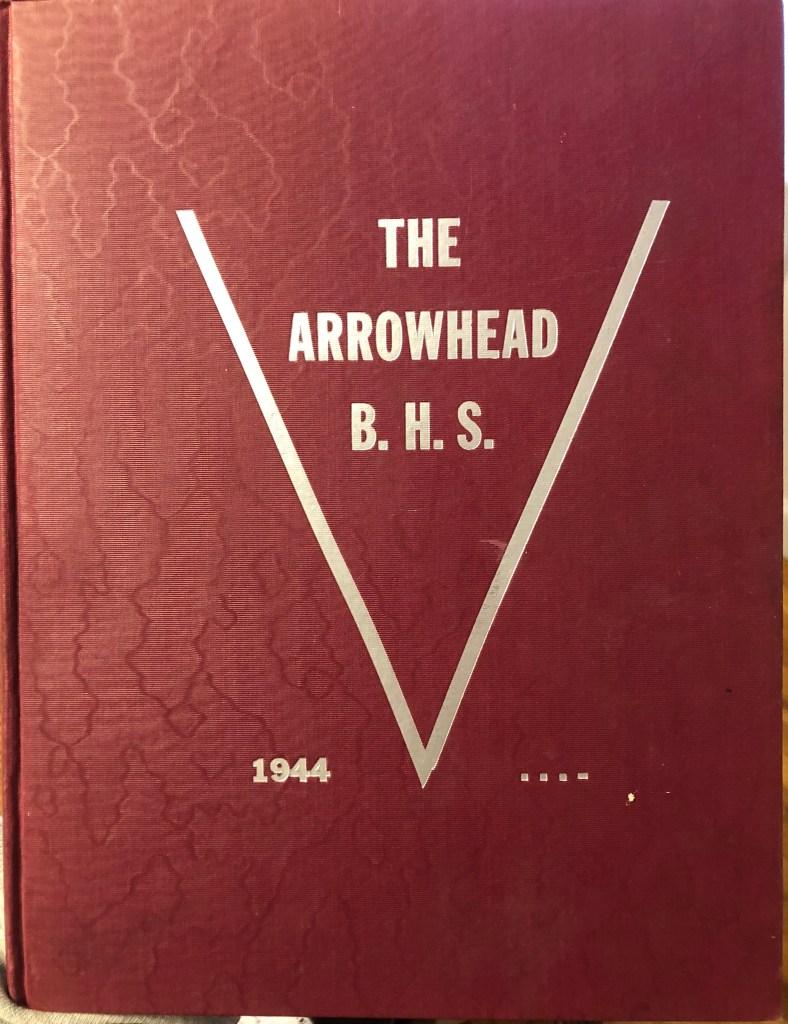 Burlington High School Burlington MA 1944 yearbook