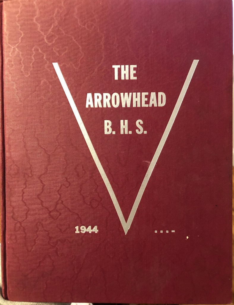 Burlington High School Burlington MA 1944 yearbook