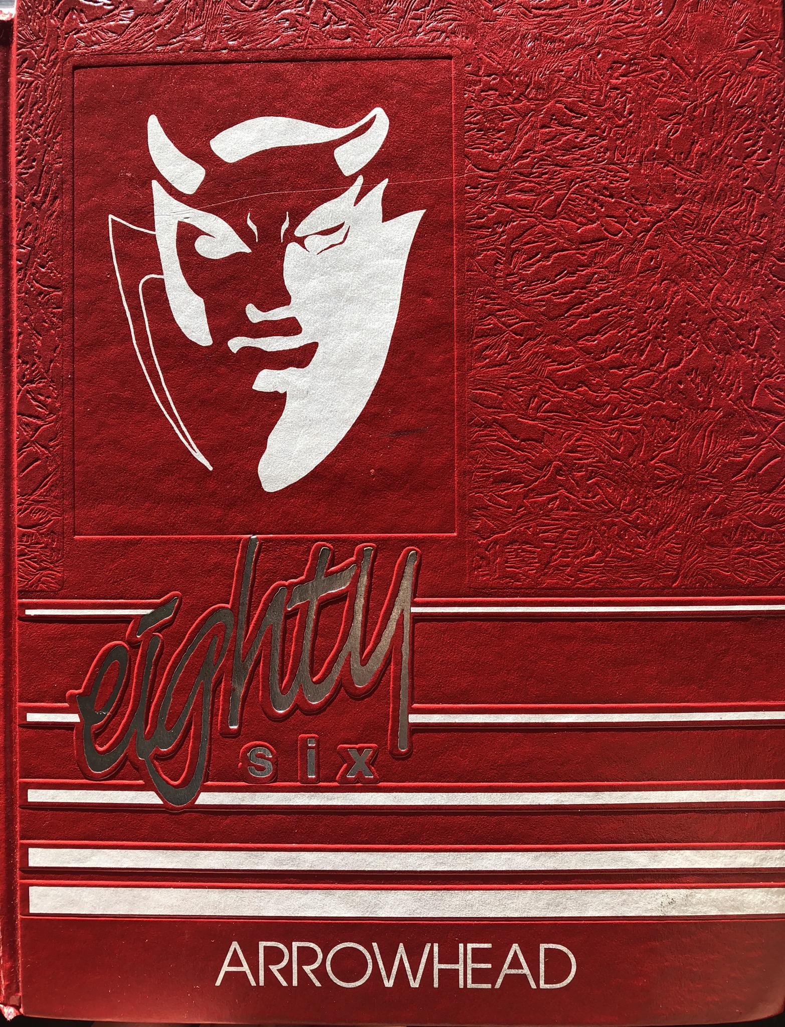 1986 Burlington High School yearbook, Burlington MA