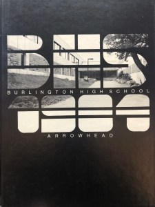 1984 Burlington High School yearbook, Burlington MA