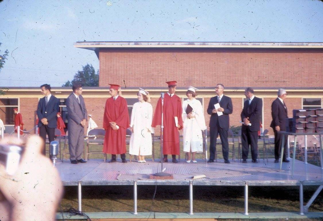 BHS graduation 1967 3