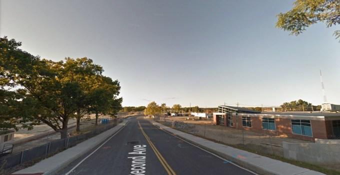 King's on the right, Wegmans site on the left, Burlington MA