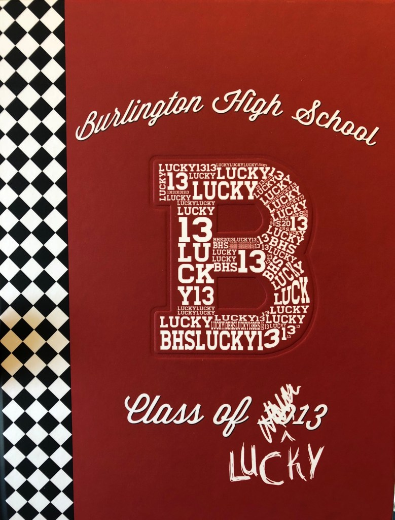 Burlington MA High School yearbook 2013