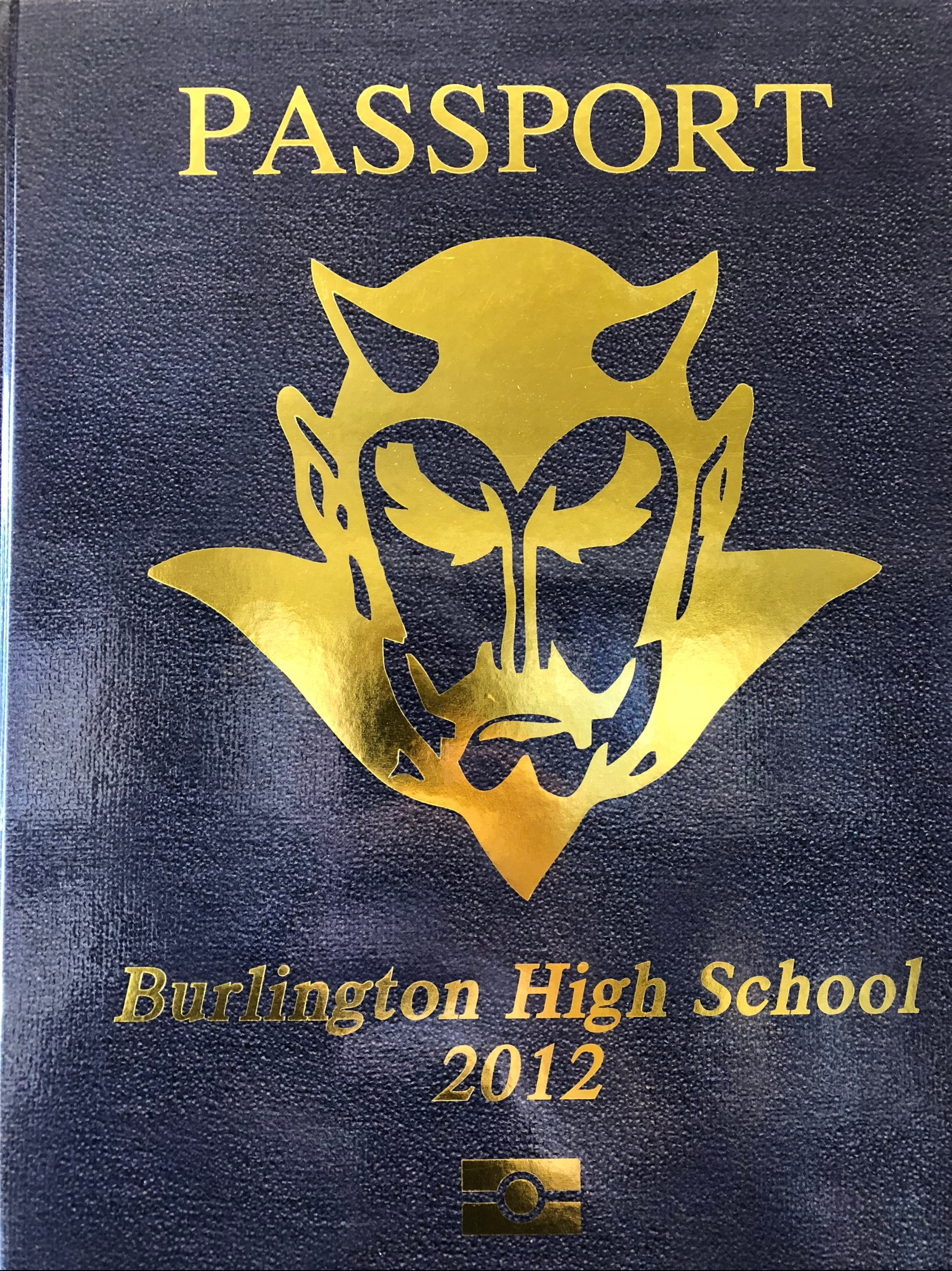 Burlington MA High School yearbook 2012