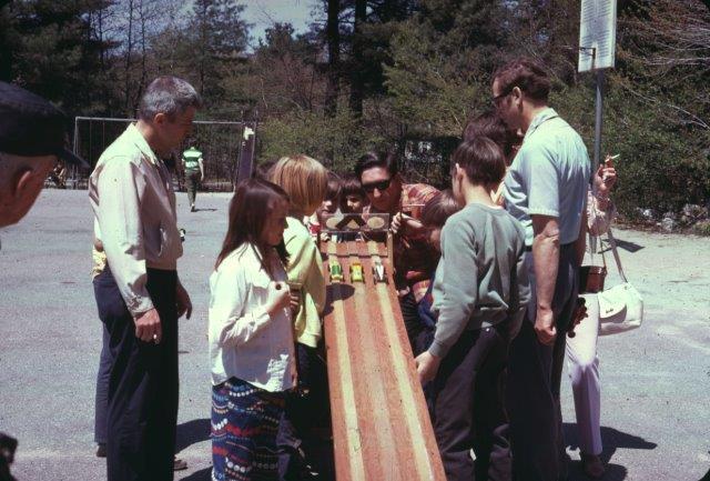 Soap Box Derby, Wildwood School parking lot, 1970