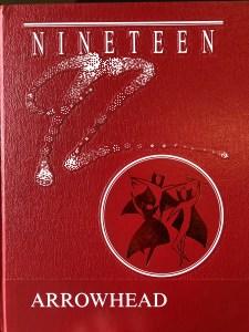 Burlington High School yearbook cover 1992, Burlington MA