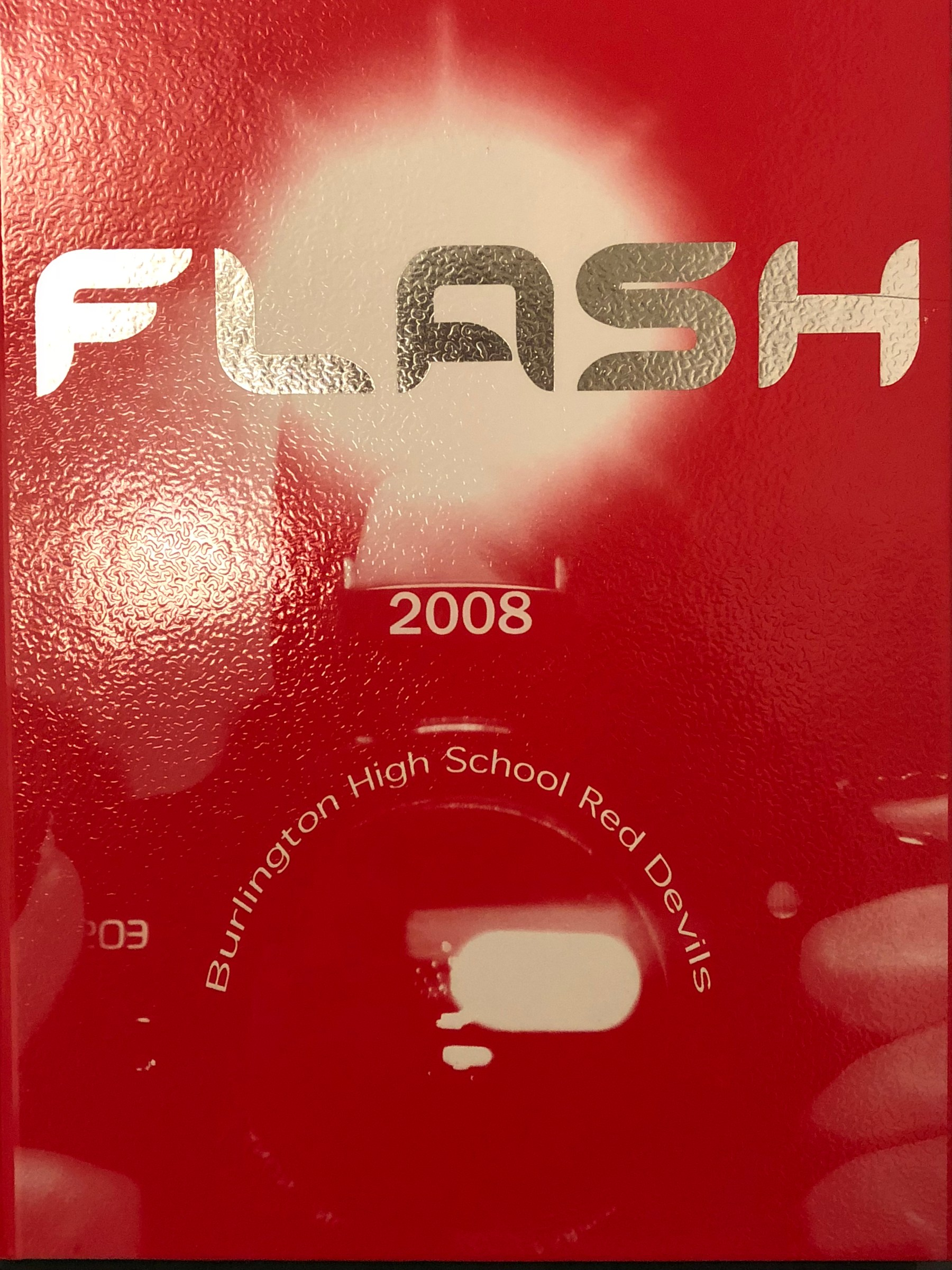 Class of 2008 Burlington MA High School yearbook cover