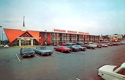 Howard Johnson Motor Lodge Burlington MA 1
