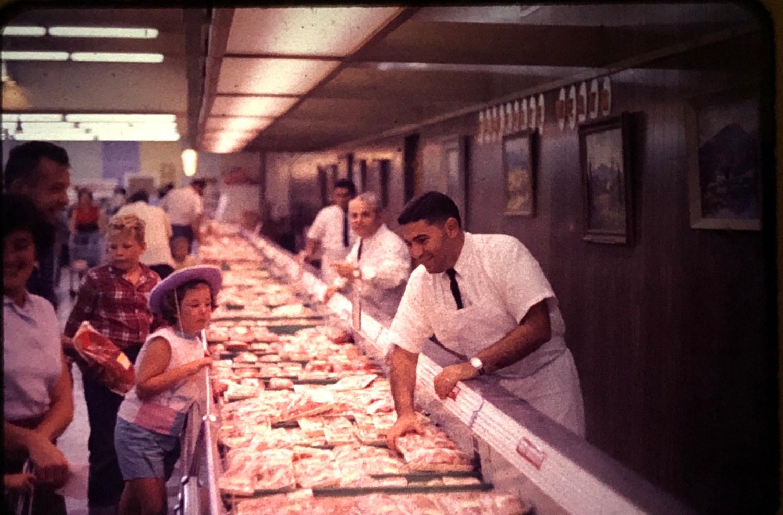 IGA Foodliner meat department Burlington MA