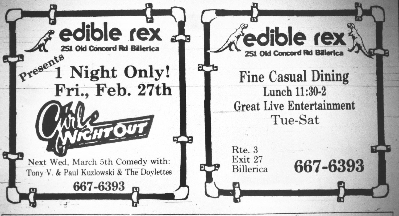 Edible Rex Billerica
