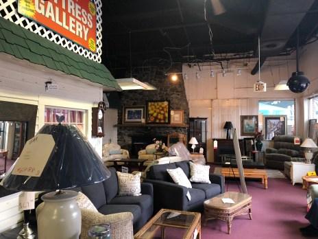 Donahue's Furniture interior