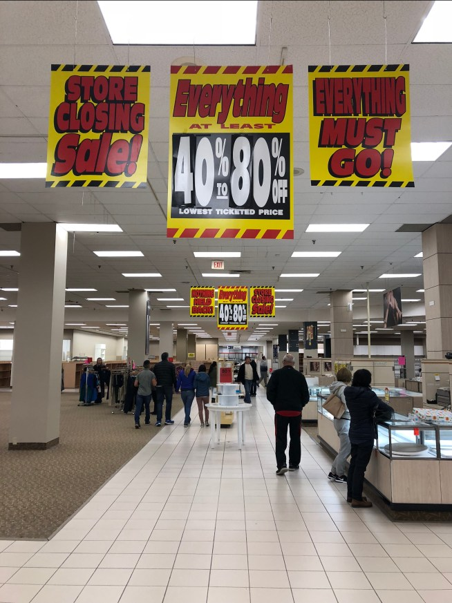 Sears interior Burlington MA