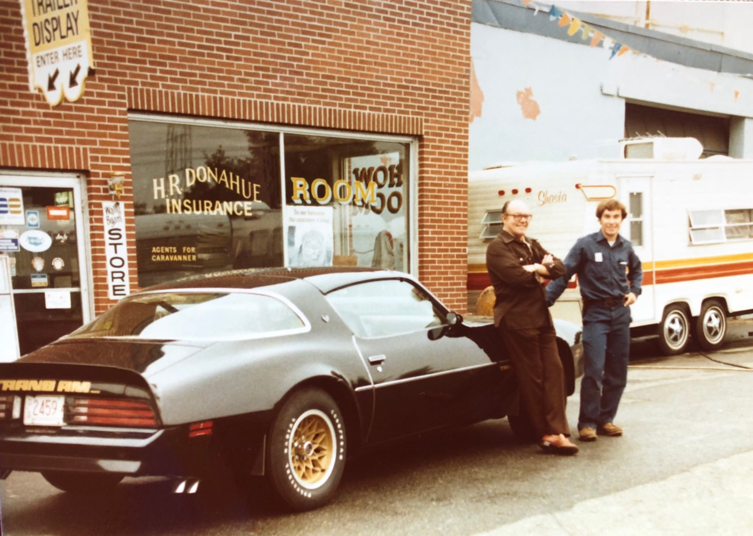 Harry and Dave Donahue with Trans Am