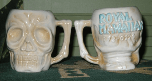 Royal Hawaiian mugs, Burlington MA