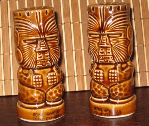 Royal Hawaiian salt and pepper shaker Burlington MA