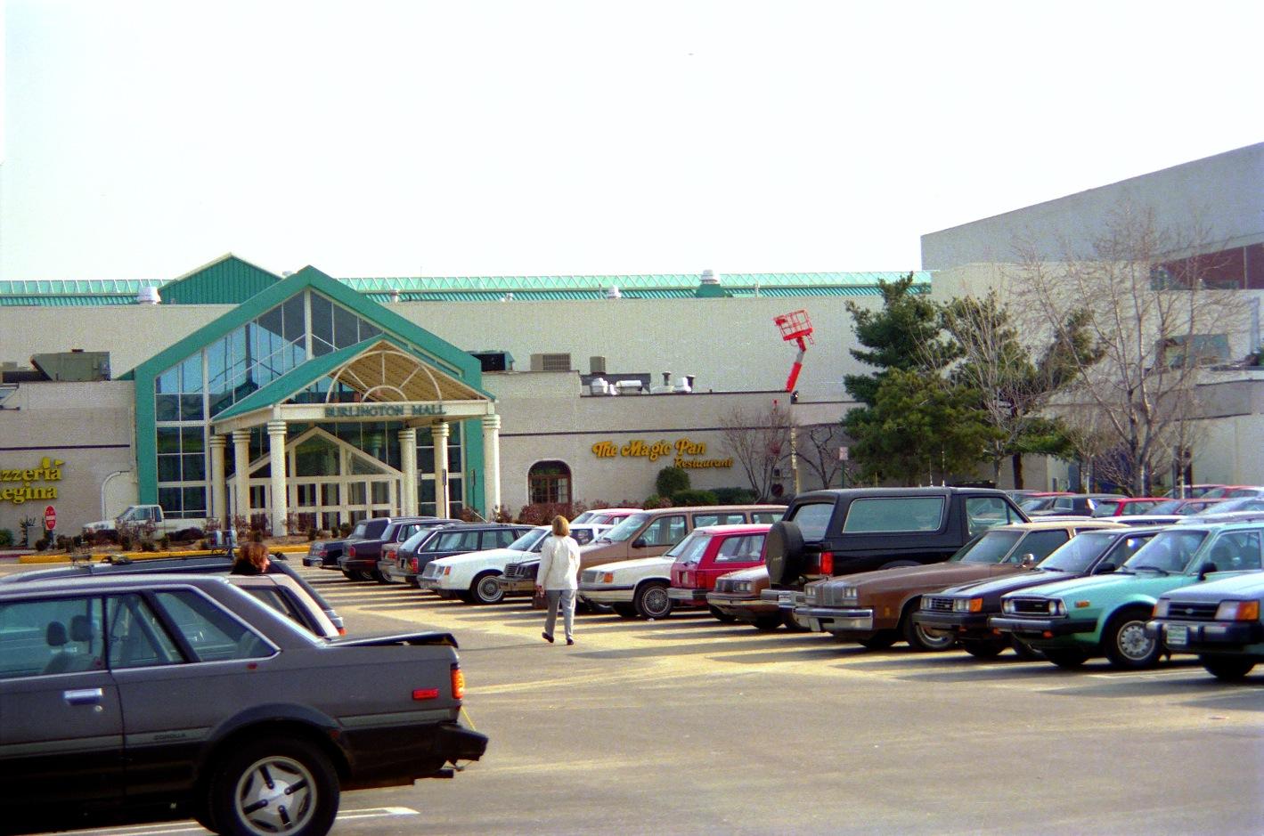 Burlington Mall late 1980s
